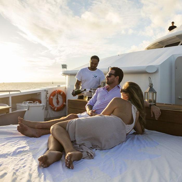 Luxury and cruise holiday