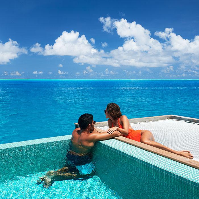 Overwater luxury and majestic lagoons