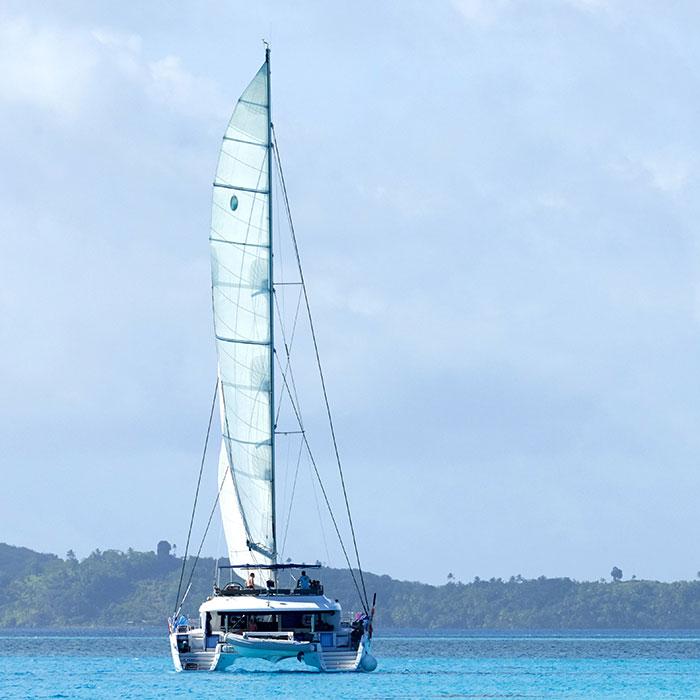 Call of the sea and Polynesian lagoons