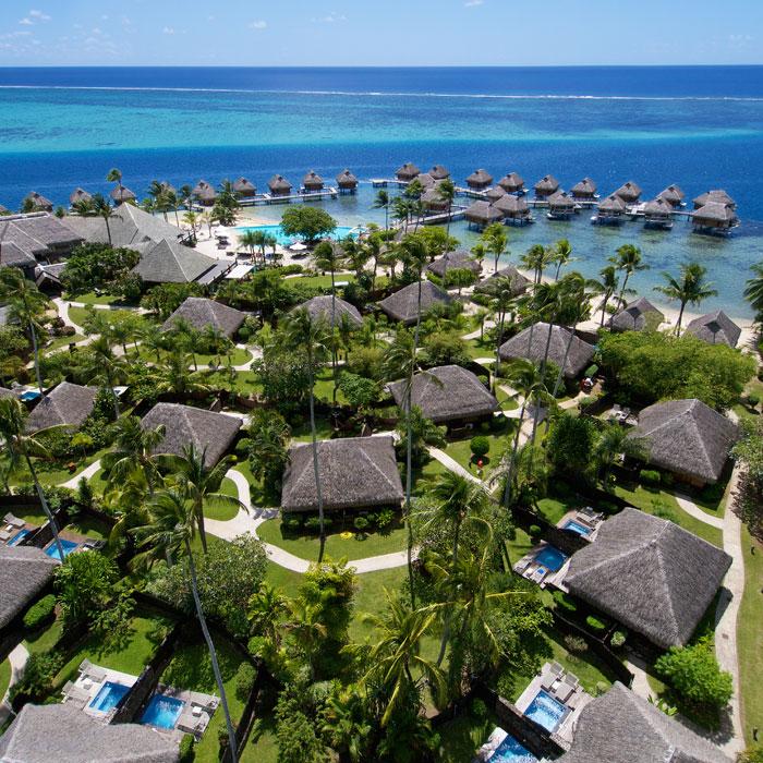 The Manava Beach Resort & Spa Moorea 7 night package