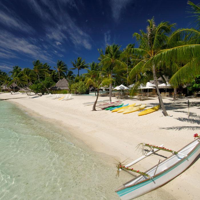 Intercontinental Bora Bora Le Moana Resort 7 night package