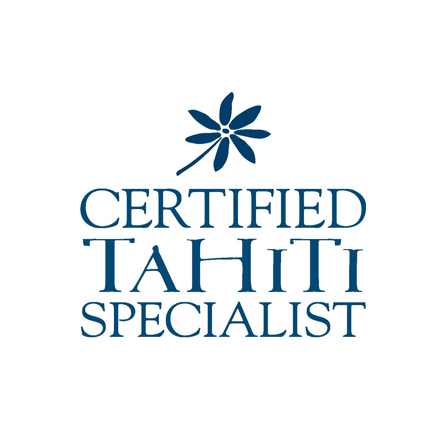 LOGO CERTIFIED TAHITI SPECIALIST 2019